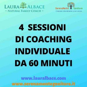 Quattro sessioni Coaching